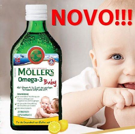 Moller's Omega-3 za djecu sa vitaminima
