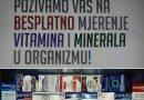 Besplatno mjerenje vitamina i minerala u organizmu